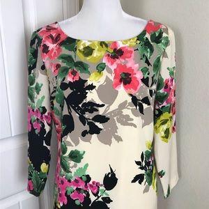 Tahari Dresses - Tahari Arthur S. Levine Shift Floral Pattern Sz 10